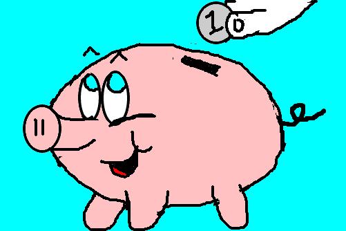 porquinho cofre